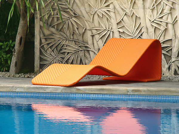 Add Some Color To Your Life With The Chumy Chaise From Lebello. The Modish  Ergonomic Lounger Provides A Simple Center Curve That Floats Mid Air For ...