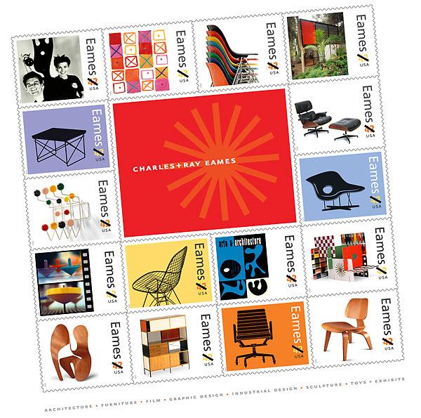 eames 300dpi Eames Stamps