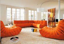 Togo Enviromental 1 in orange-Sofas-furniture-kontaktmag-11