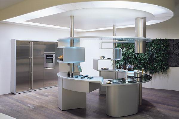Elite kitchen design kontaktmag for Curved island kitchen designs
