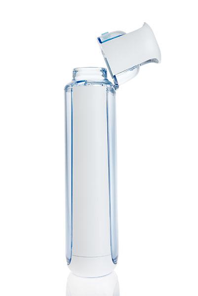 how to open kor water bottle