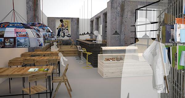 michelberger hotel set to open in berlin kontaktmag modern living forward thinking. Black Bedroom Furniture Sets. Home Design Ideas