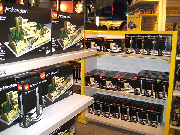 Publisher at Large: Lego and Architecture