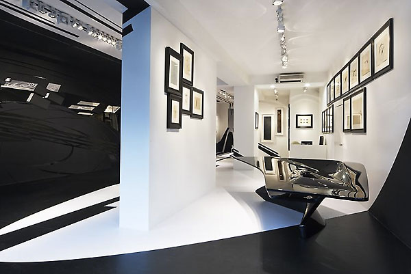 Zaha hadid and suprematism for Interior design zaha hadid