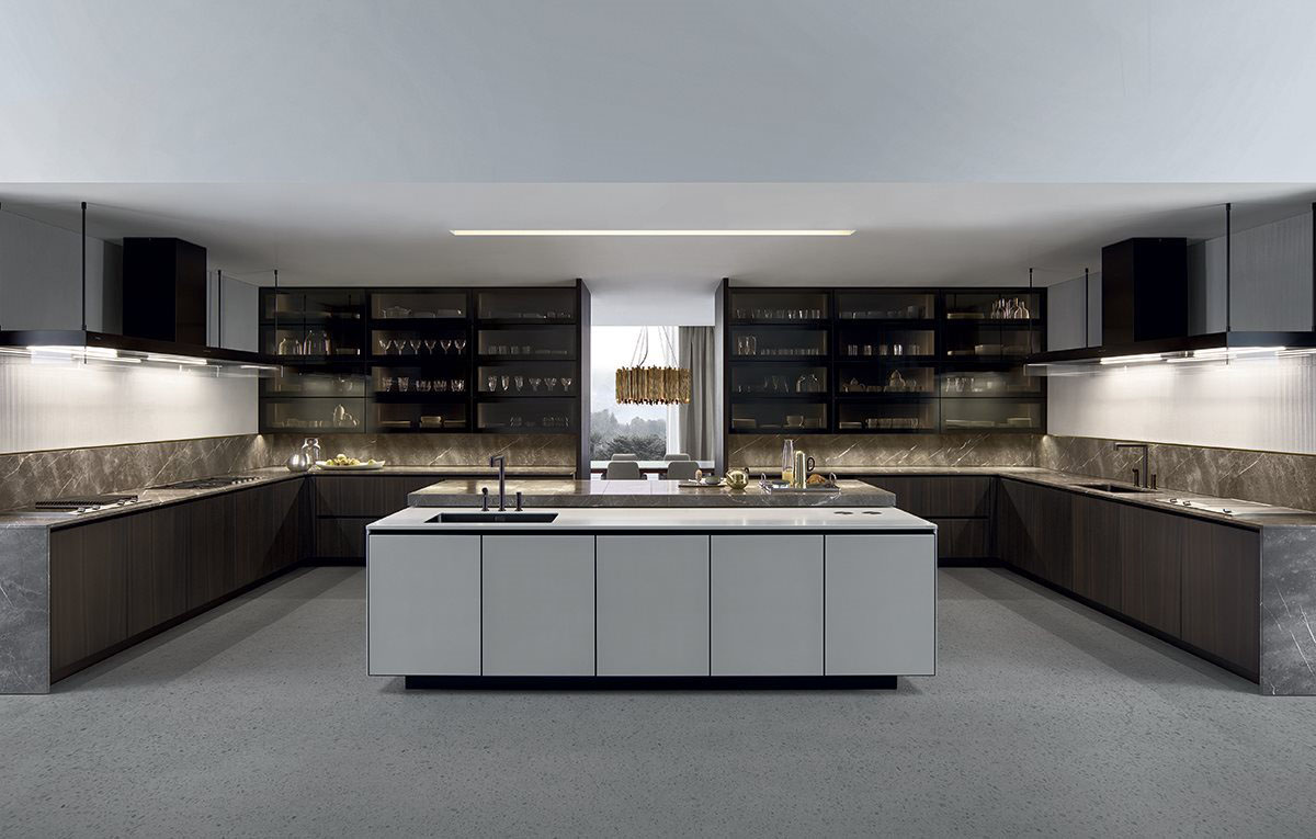 varenna arthena kitchen by poliform kontaktmag
