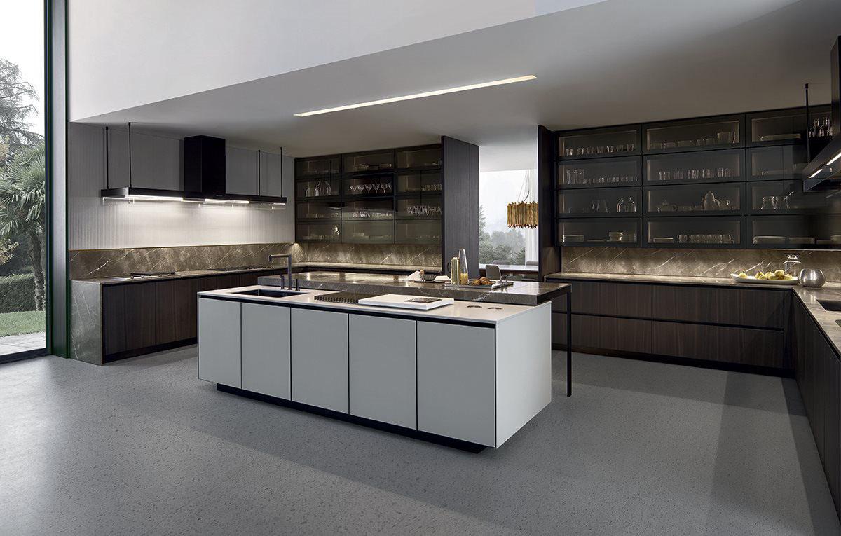 Varenna arthena kitchen by poliform kontaktmag for Poliform kitchen designs