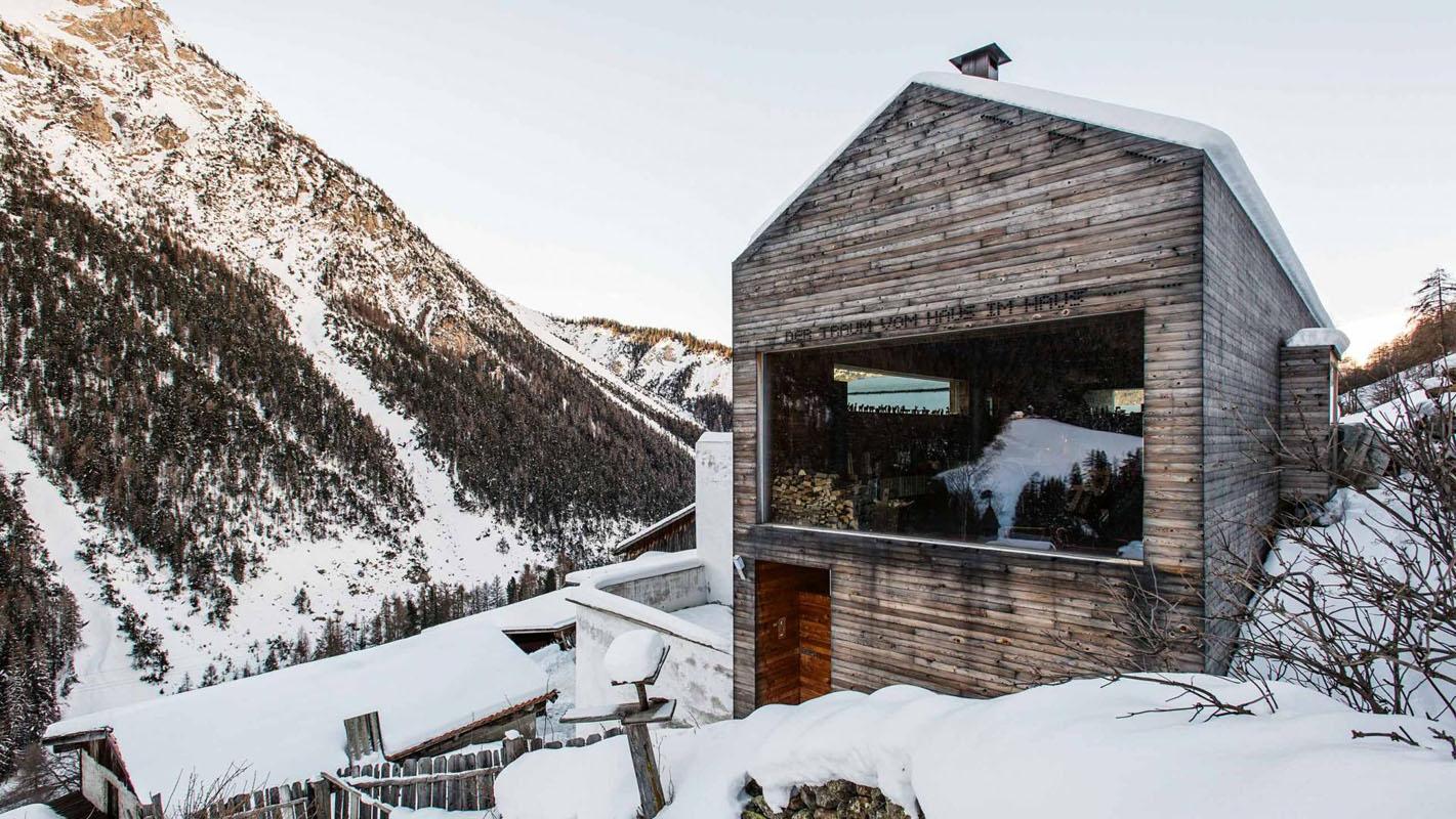 Home Architecture Modern Alpine Farmhouse Renovation.  Prenner_alps_farmhouse Architecture Kontaktmag23