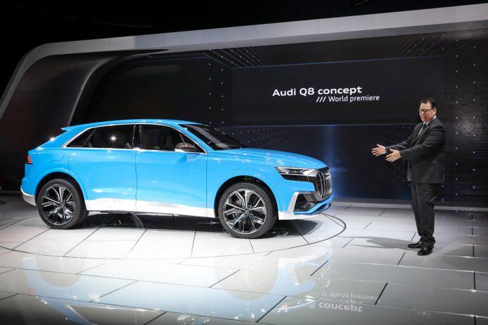 Audi debuts its Q8 Concept