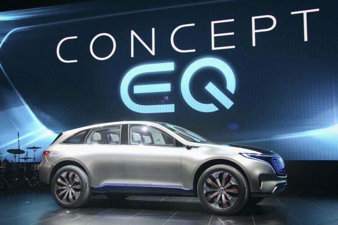 Mercedes benz concept eq reveals electro look kontaktmag for Mercedes benz concept eq