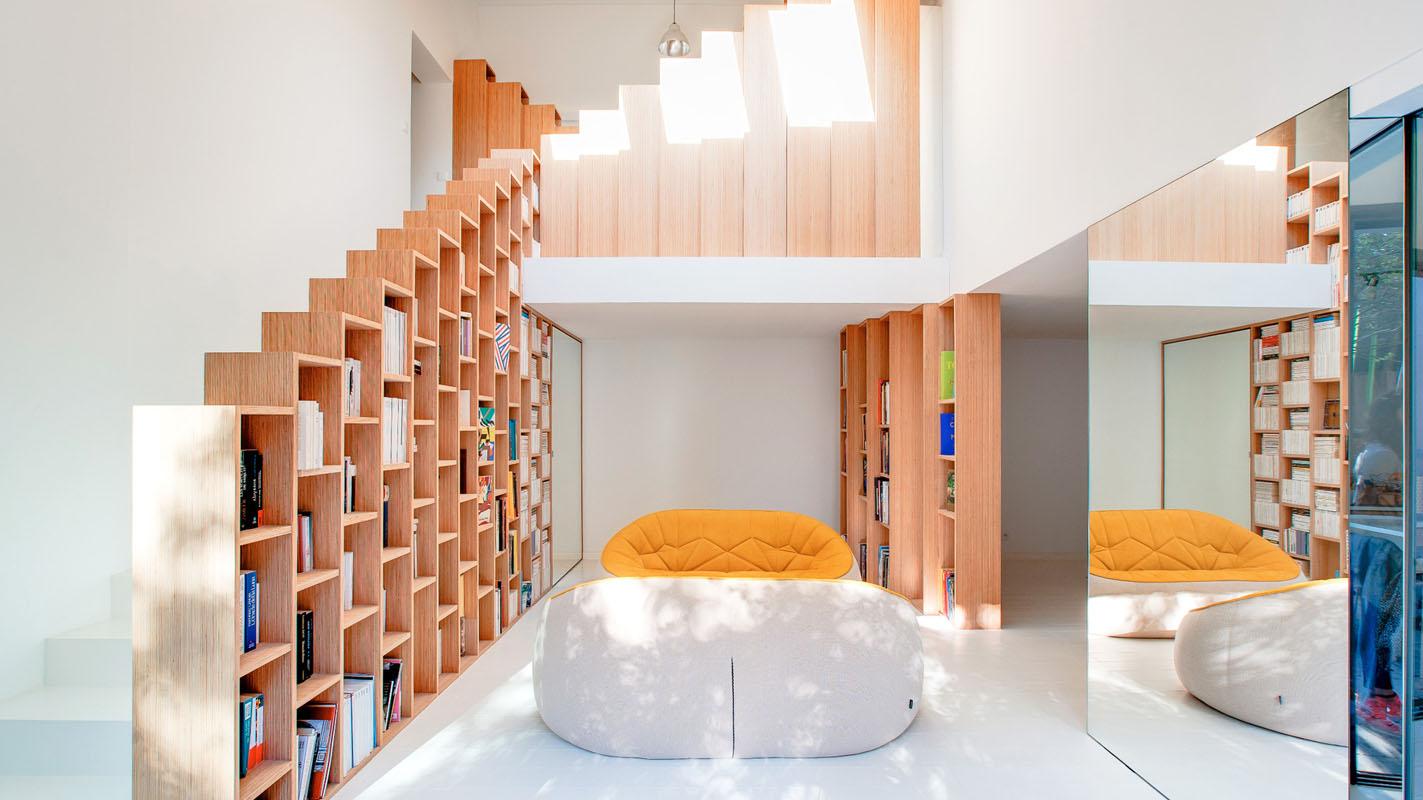 bookshelf house is a bibliophile u0027s dream home kontaktmag