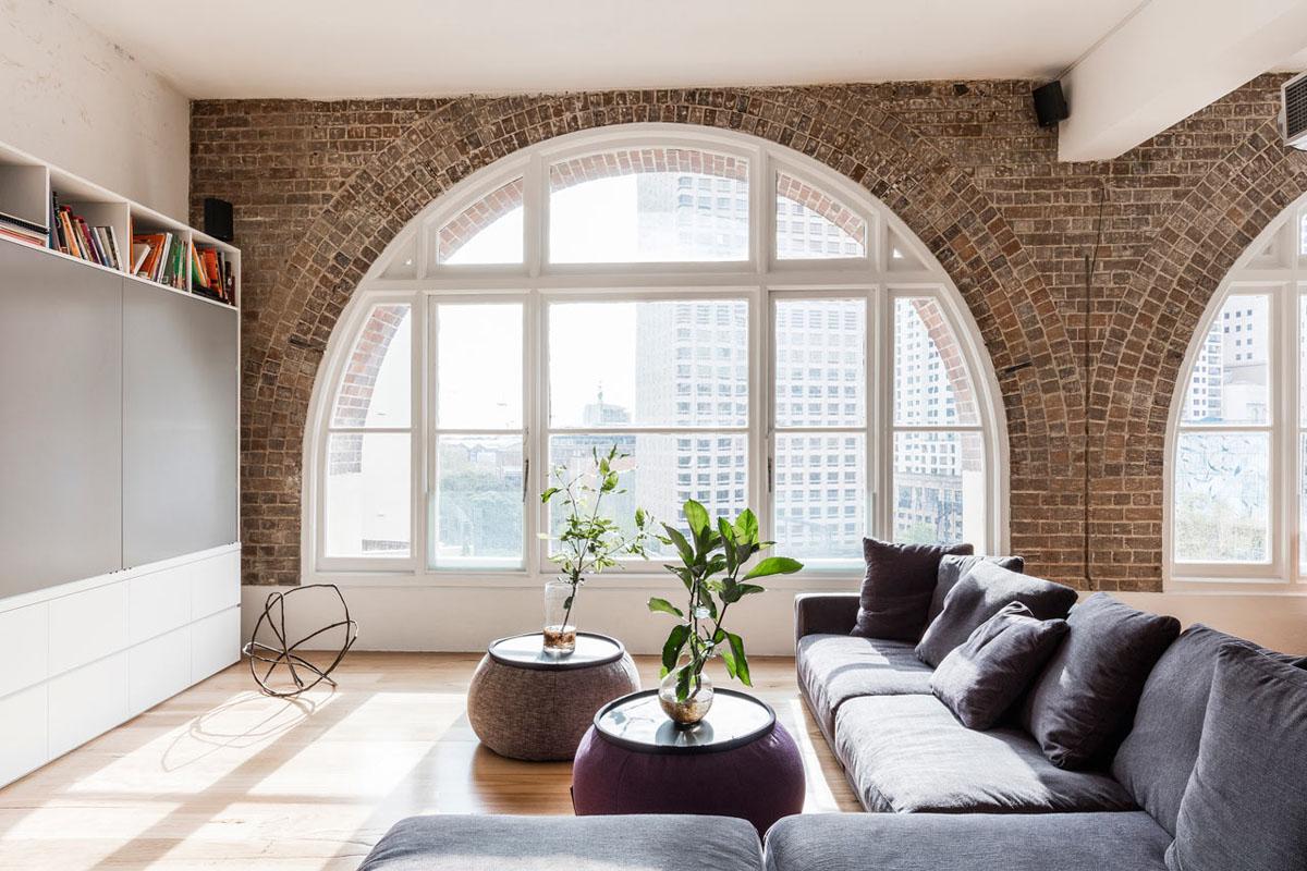 Modern loft apartment renovation in surry hills kontaktmag for Küchensideboard