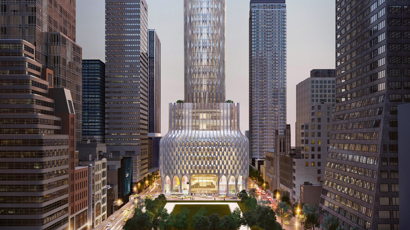 Zaha hadid architects unveil nyc skyscraper kontaktmag for Architecture companies in nyc