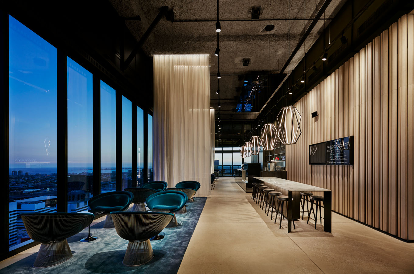 Lighting a law office to enhance the architecture kontaktmag for Interior design law office
